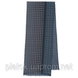 Кашне чоловіче 10173-14, павлопосадский шарф (кашне) вовна шовк (атлас) двосторонній чоловічий з осыпкой