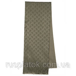 Кашне чоловіче 1201-3, павлопосадский шарф (кашне) вовна шовк (атлас) двосторонній чоловічий з осыпкой