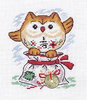 """Набор для вышивки крестом """"Panna"""" Мешочек счастья И-0835"""