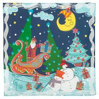 10424 платок хлопковый 10424-14, павлопосадский платок на голову хлопковый (саржа) с подрубкой   Первый сорт    СКИДКА!!!