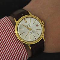 Poljot de luxe automatic Полет де люкс часы СССР , фото 1