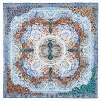 10328 платок хлопковый(батист) 10328-13, павлопосадский платок (на голову, шейный) хлопковый (батистовый) с подрубкой   Первый сорт