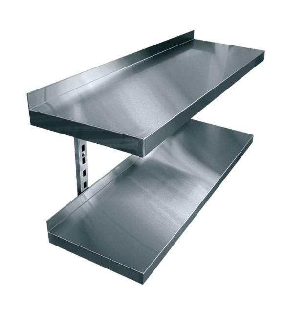 Полки кухонные из нержавеющей стали