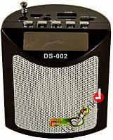 Колонка портативная SPS DS 002, цифровой радиоприемни, музыкальная мини колонка, акустическая система