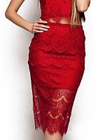 Женская юбка карандаш из гипюра (Виолаkr)