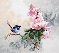 """Набор для вышивания крестом """"Luca-s"""" Птичка BА2313"""