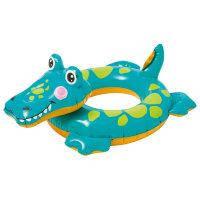 Надувной круг крокодил intex 58221