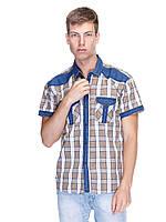 Мужская рубашка ARMA Jeans бежевая XL