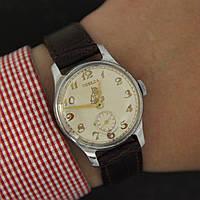 Победа винтажные наручные механические часы СССР , фото 1