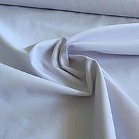 Саржа смесовая для униформы белая, ширина 150 см