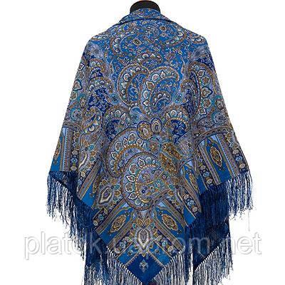 e7caad855272 Садко 598-57, павлопосадский платок шерстяной с шелковой бахромой