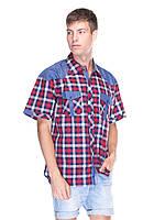 Мужская рубашка Arma Jeans красная