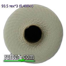 Нить капроновая 0.8 мм. - 3170 м. плотность 93.5 текс в 3 нити, вес 1кг рыболовная  - полиамидная , фото 3