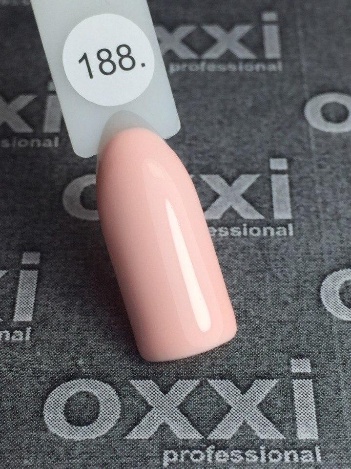 Гель-лак Oxxi Professional № 188, 10 мл