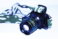 Налобный фонарь яркий BAILONG BL - 6808 30000W