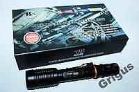 Тактический фонарик Police BL-2804 158000W, ударопрочный ручной фонарик, мощный влагозащищенный фонарь