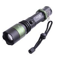 Светодиодный Фонарик BAILONG BL-1828-T6 POLICE 5000W, Тактический фонарик, Аккумуляторный ручной Фонарик