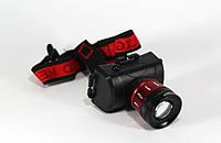 Налобный фонарик BL 6967 C T6 диодом 50000W, светодиодный фонарик на голову,  яркий аккумуляторный фонарик
