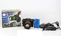 Светодиодный налобный  Фонарик POLICE BAILONG BL 6968-T6, фонарик налобный, фонарь на голову аккумуляторный