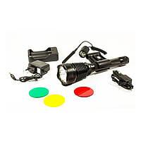 Охотничий Фонарик BL Q2800-T6, тактический фонарь, подствольный фонарь, светодиодный фонарик, фонарь для охоты