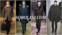 """Пальто мужское под заказ с меховой отделкой от магазина """"Соболини"""""""