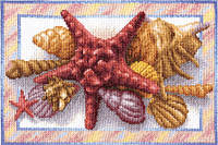 """Набор для вышивки крестом """"Panna"""" Морская звезда Н-0465, фото 1"""