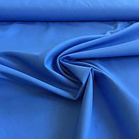 Саржа смесовая для униформы синяя, ширина 150 см