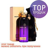 Montale Aoud Sense. Eau De Parfum 100 ml / Женская парфюмированная вода Монталь Ауд Сенс 100 мл