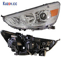 Фара Mitsubishi ASX 10- левая (DEPO) электрич.