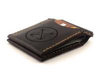 Кожаный зажим для денег Anchor Stuff ANC-OS-4105 с отделением для карт