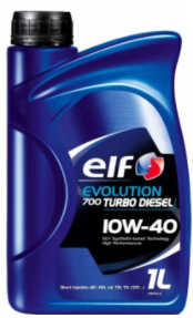 Масло моторное ELF Evolution 700 TURBO DIESEL 10W-40, 1л