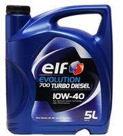 Масло моторное ELF Evolution 700 TURBO DIESEL 10W-40, 5л
