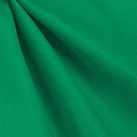 Ткань лен однотонный Тёмно-зелёный