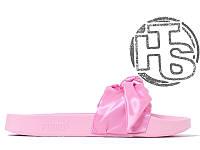 Женские шлепанцы Puma x Fenty By Rihanna Slide Pink 36577403