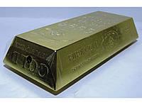 Настольная зажигалка-слиток золото ZK7-38