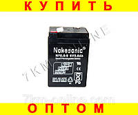 Аккумулятор NOKASONIK 6 v-5.0 ah 720 gm!Хит