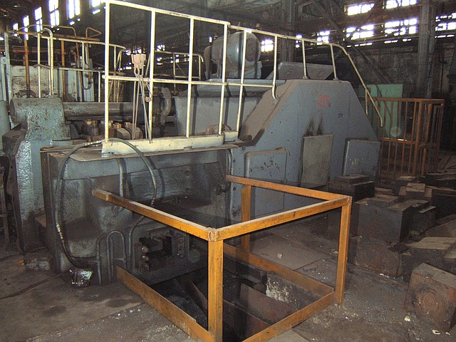 HORIZONTAL FORGING MACHINE V 1139А, capaсity 800 t