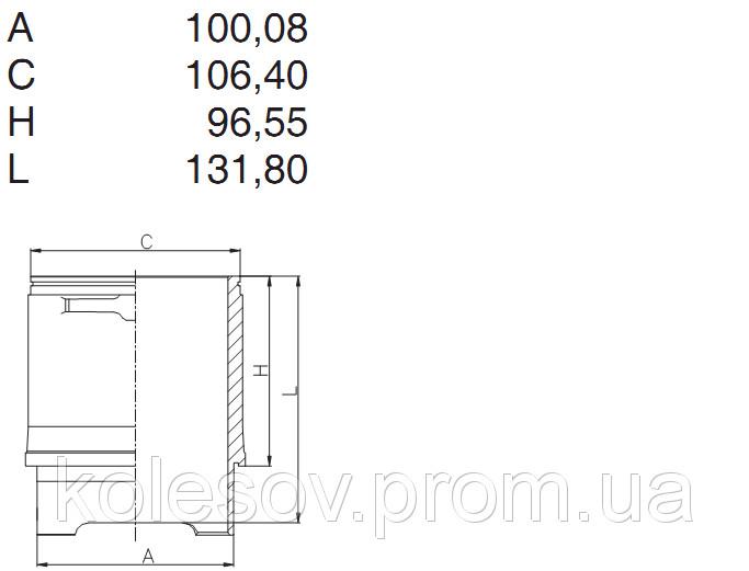 Поршни + Гильзы + кольца VW 1,9бенз. д.94мм.