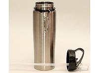 Бутылочка с поилкой 500 мл T39-3, термобутылка для напитков, кружка поильник, термос с поилкой