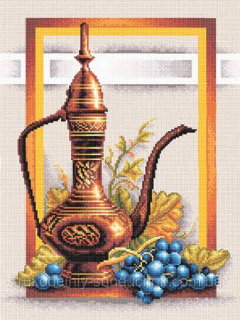 """Набор для вышивки крестом """"Panna"""" Натюрморт с виноградом Н-0294"""