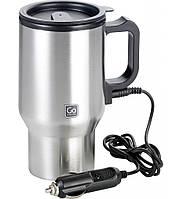 Heated travel mug, термокружка с подогревом, автомобильная термокружка, термокружка от прикуривателя