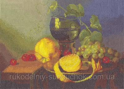 """Набор для вышивки крестом """"Panna"""" Натюрморт с лимоном  Н-0937"""