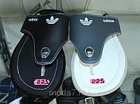 Мужские вьетнамки Adidas 2 цвета - кожа