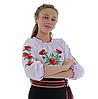 """Сорочка вишиванка """"Макова Роса"""" від 7 до 13 років, фото 4"""