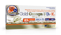 Омега Olimp Labs - Gold Omega 3 D3+K2 1000 мг 30 caps.