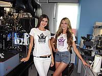 Нанесение рисунков и логотипов на футболки в Киеве