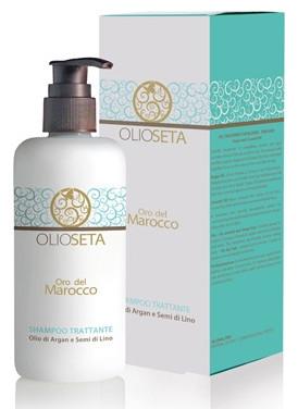 BAREX Olioseta Oro Del Marocco Живильний шампунь з маслом аргани і маслом насінням льону 750 мл.