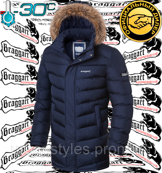 Куртка мужская с мехом Braggart Aggressive