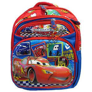 """Рюкзак детский школьный 3D для мальчиков """"Машинки"""" 35*30"""