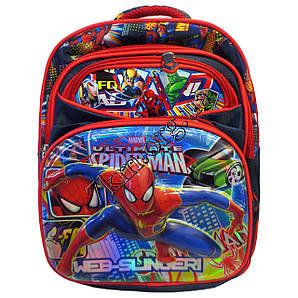"""Рюкзак детский школьный 3D для мальчиков """"Спайдермен"""" 35*30"""